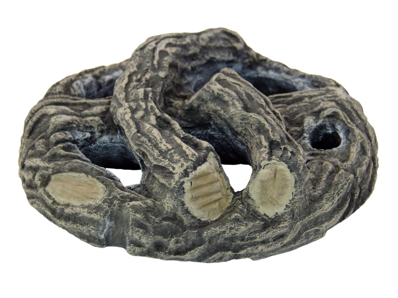 <strong>Included: </strong>Large realistic one-piece lightweight high temperature ceramic fiber log set.<br/>